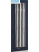 Phoenix Louise Vertical 420 x 1800mm Chrome Designer Radiator