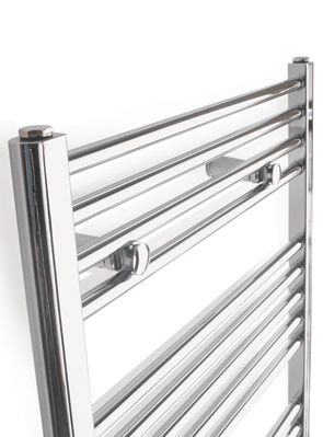 Tivolis Chrome Straight Heated Towel Rail 750 x 1800mm