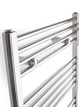 Tivolis Chrome Straight Heated Towel Rail 450 x 1400mm