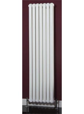 Phoenix Lilly Vertical 318 x 1800mm White Designer Radiator