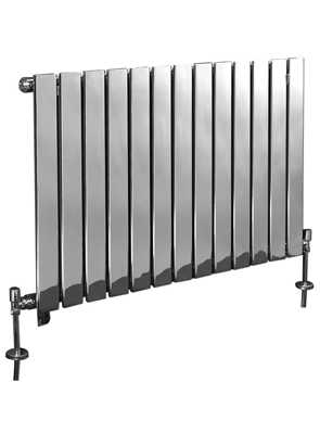 Phoenix Orla Wide 1000 x 600mm Chrome Designer Radiator