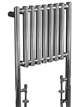 Phoenix Mia 600 x 800mm Chrome Floor Standing Designer Radiator