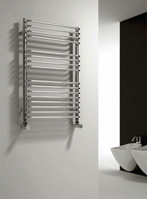 Reina Isaro 300 x 800mm Designer Radiator Chrome