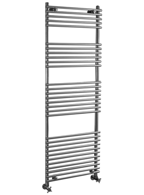 Phoenix Demi 600 x 1200mm Chrome Designer Heated Towel Rail