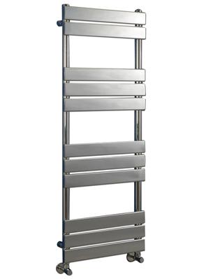 Phoenix Sorento 500 x 950mm Chrome Designer Heated Towel Rail