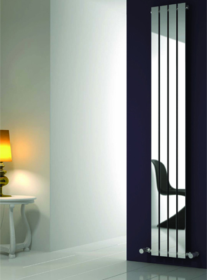 Reina Osimo Chrome Designer Radiator 430 x 1800mm