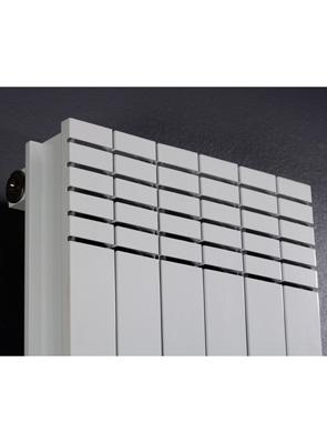 MHS Minimal White Aluminium Designer Radiator 334 x 1800mm