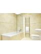 SBH Mega Slim Flat 360 x 1600mm Stainless Steel Towel Radiator
