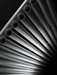 MHS Reed Anthracite Aluminium Designer Radiator 435 x 1800mm