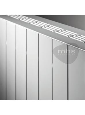 MHS Velocity Horizontal White Designer Radiator 1500 x 600mm