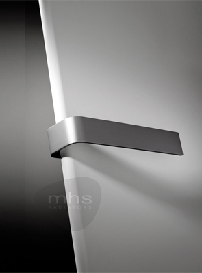 MHS Xterras Single Rounded Edge Anthracite Designer Radiator 540 x 1220mm