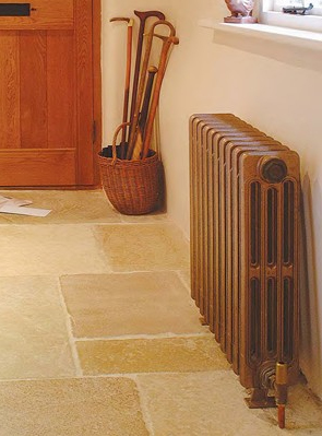 Apollo Firenze Cast Iron 4 Column Radiator 880mm High 26 To 50 Sections