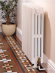 Apollo Firenze Cast Iron 4 Column Radiator 750mm High 6 To 25 Sections