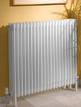 Apollo Roma 6 Column 30 Section White Radiator With Feet 1400 x 300mm