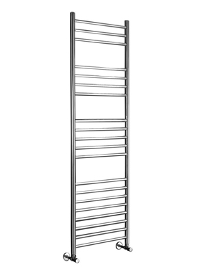 Phoenix Athena 350 x 1200mm Stainless Steel Heated Towel Rail