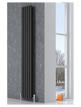 Reina Neva Black Double Panel Designer Radiator 295 x 1800mm