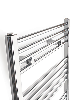 Tivolis Straight Chrome Heated Towel Rail 700 x 800mm