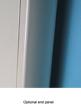 MHS Decoral Hi White Aluminium Designer Radiator 340 x 1800mm